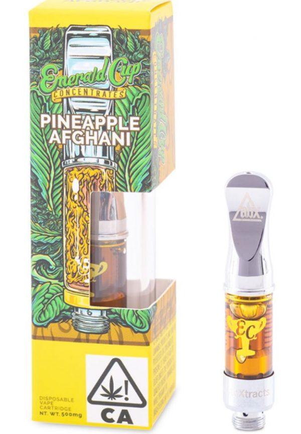 Pineapple Afghani Oil Vape Cartridge UK