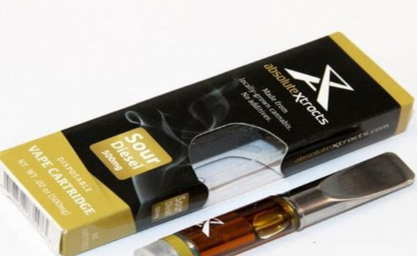 Sour Diesel CO2 Oil Vape Cartridge UK