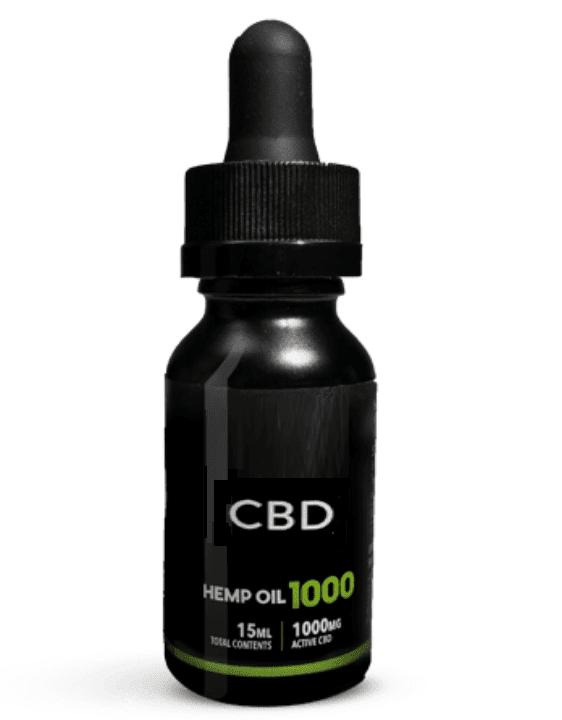 1000 MG CBD OIL Tincture THC FREE