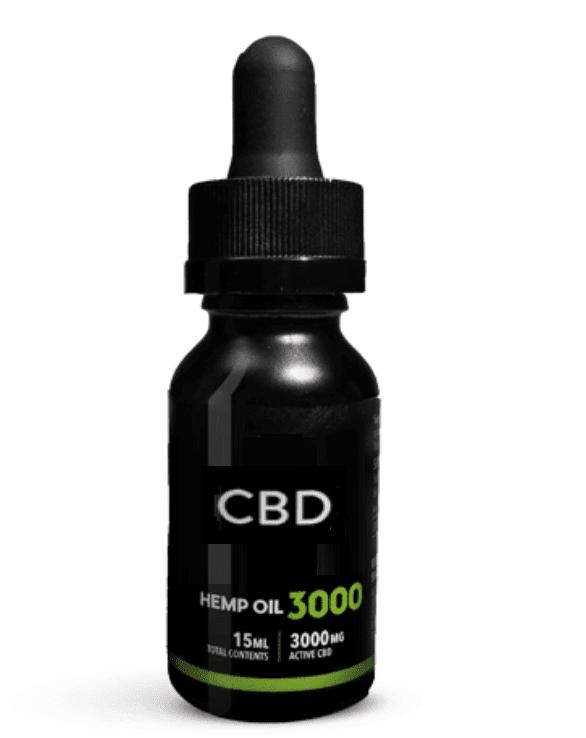 3000 MG CBD OIL THC FREE
