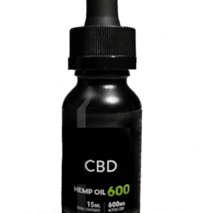 600 MG CBD HEMP OIL THC FREE