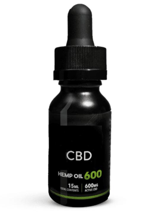 600 MG CBD HEMP OIL THC FREE