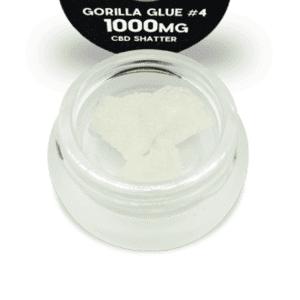 Best GORILLA GLUE #4 CBD Shatter