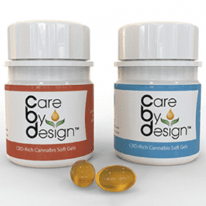 Care By Design Cannabis Gel Caps
