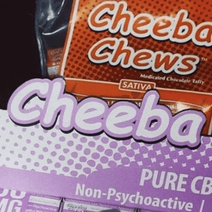 Cheeba Chew Sativa Cannbis Edible 100mg THC