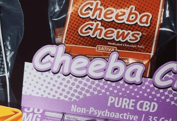 Cheeba Chew Sativa Cannbis Edible 100mg THC