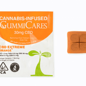 Gummi Care CBD Xtreme Orange - 22mg CBD