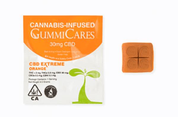 Gummi Care CBD Xtreme Orange - 22mg CBD