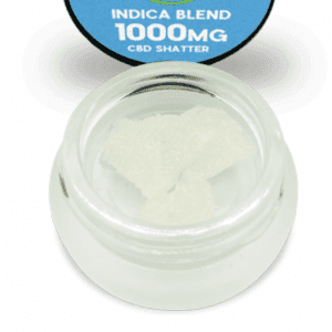 INDICA SHATTER 1000MG Hemp Extracted Pure Isolate