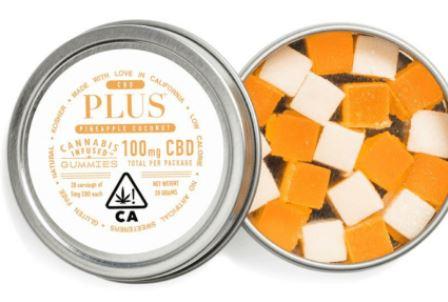Pineapple Coconut CBD Gummies Cannabis Edibles