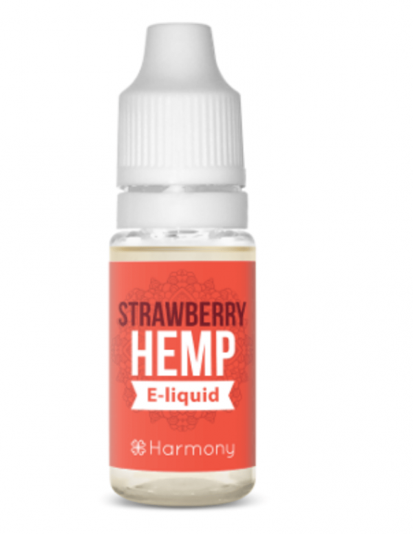 Strawberry E-Liquid Hemp Oil