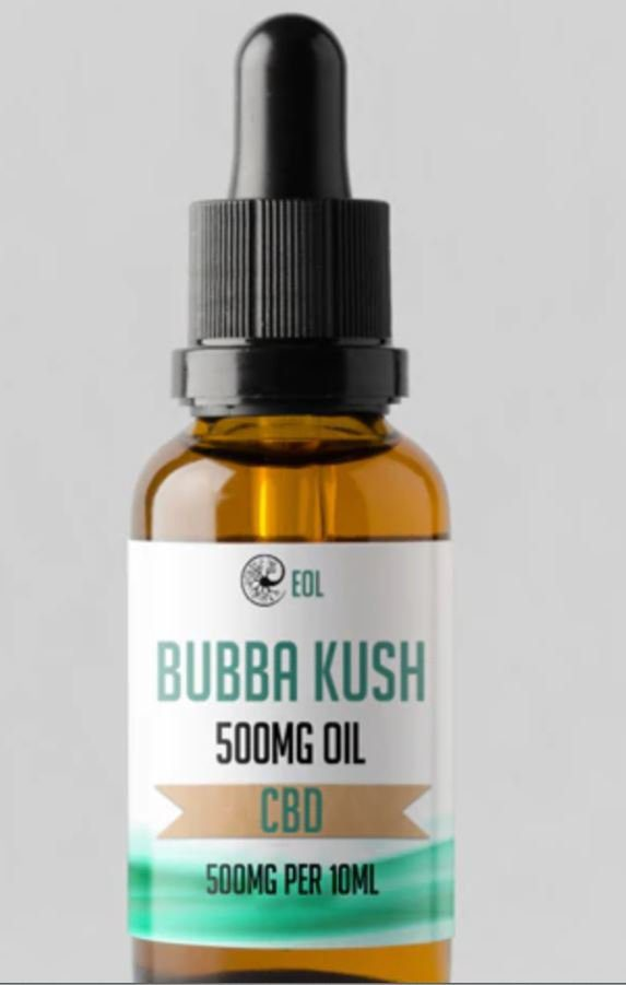 Bubba Kush Hemp Oil UK