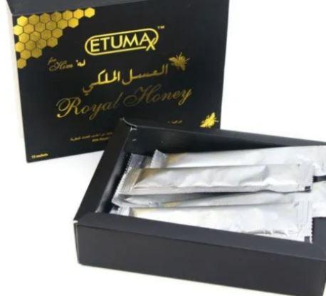 UK Royal Honey Etumax 12X20g