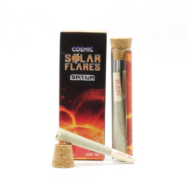 Solar Flares 4 Sativa PreRolls 1.2g by Moonrock