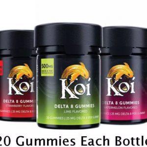 Best THC Delta 8 Gummies Ireland