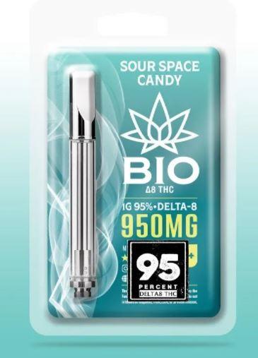 Bio Delta 8 THC Vape Cart Sour Space Candy
