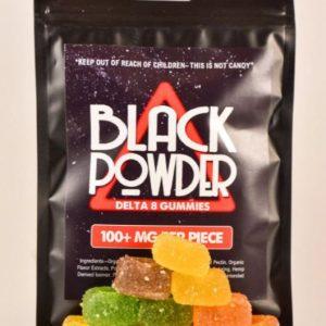 Black Powder D8 DELTA 8 THC Gummies UK
