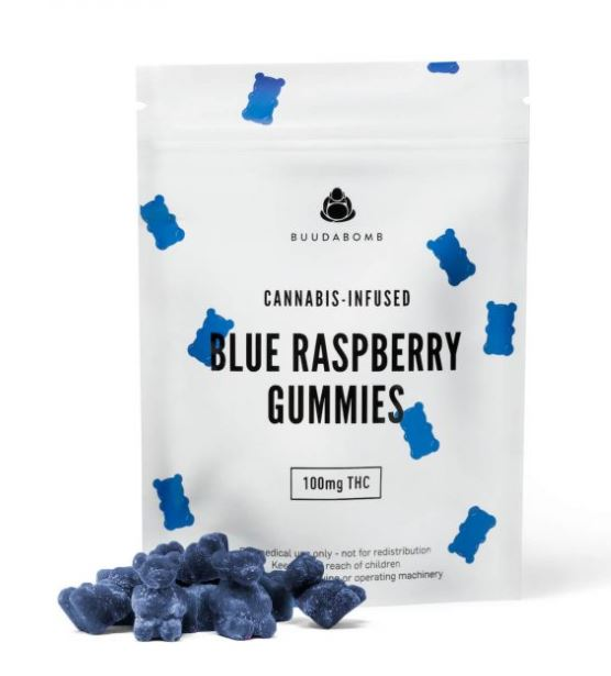 Blue Raspberry THC Gummies UK