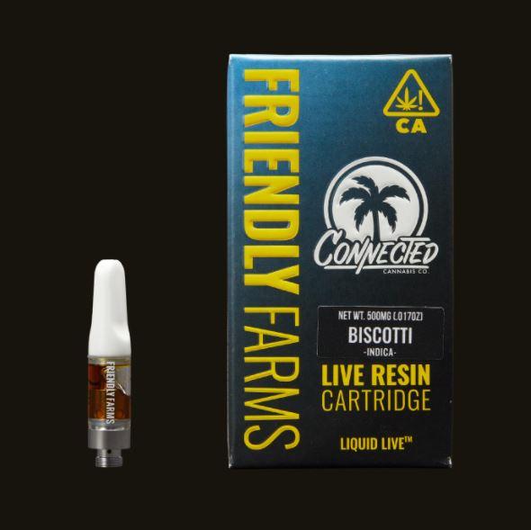 Buy Biscotti Live Resin Cartridge UK