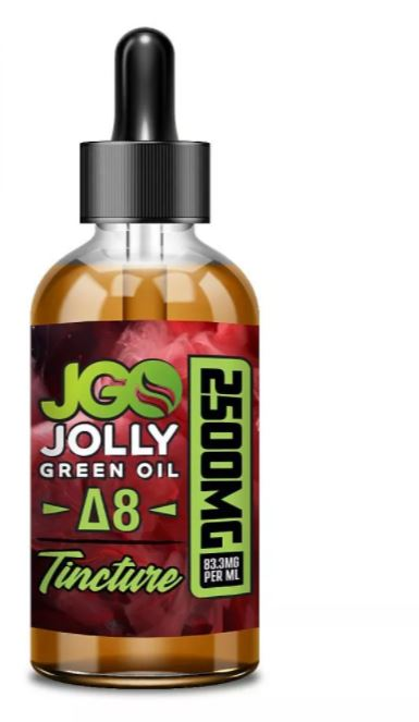 Buy JGO Delta-8 THC Tincture Ireland