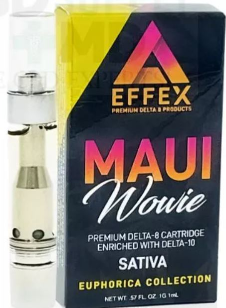 Delta 10 Delta 8 Blend THC Cartridge Maui Wowie