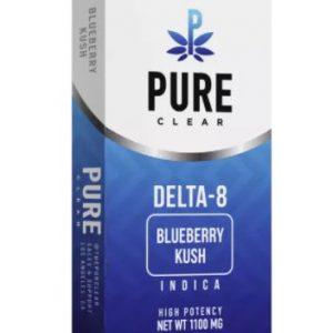 Delta-8 THC Blueberry Kush Vape Cartridge UK