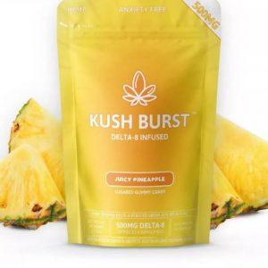 Delta 8 THC Gummies Kush Burst Juicy Pineapple