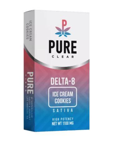 Delta-8 THC Ice Cream Cookies Vape Cart UK