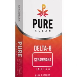 Delta-8 THC Strawnana Vape Cartridges UK