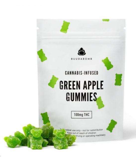Green Apple Gummies weed Edibles UK