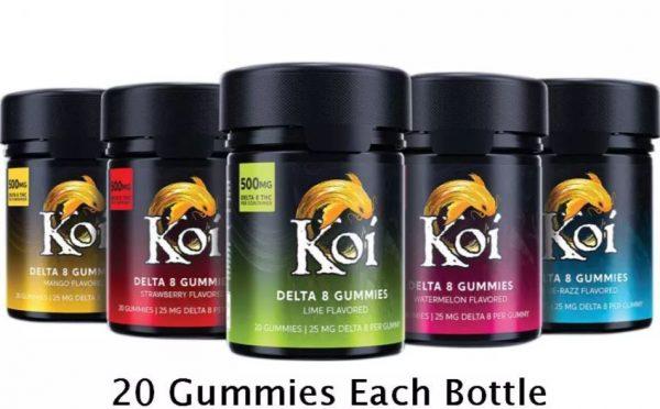 Koi Delta 8 THC Gummies 500mg