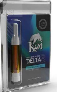 Koi Delta 8 Vape Cartridge Super Sour Diesel