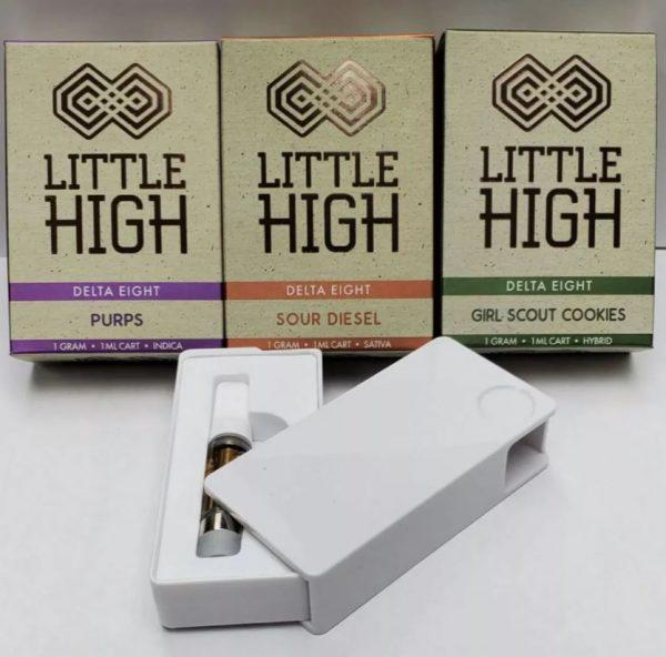 Little High Delta 8 Indica Purps Vape Cart