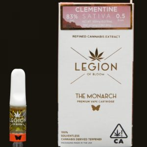 Order Clementine Monarch Vape Cartridge UK