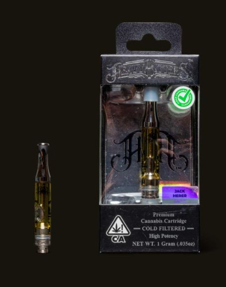 Order THC Jack Herer Cartridge UK